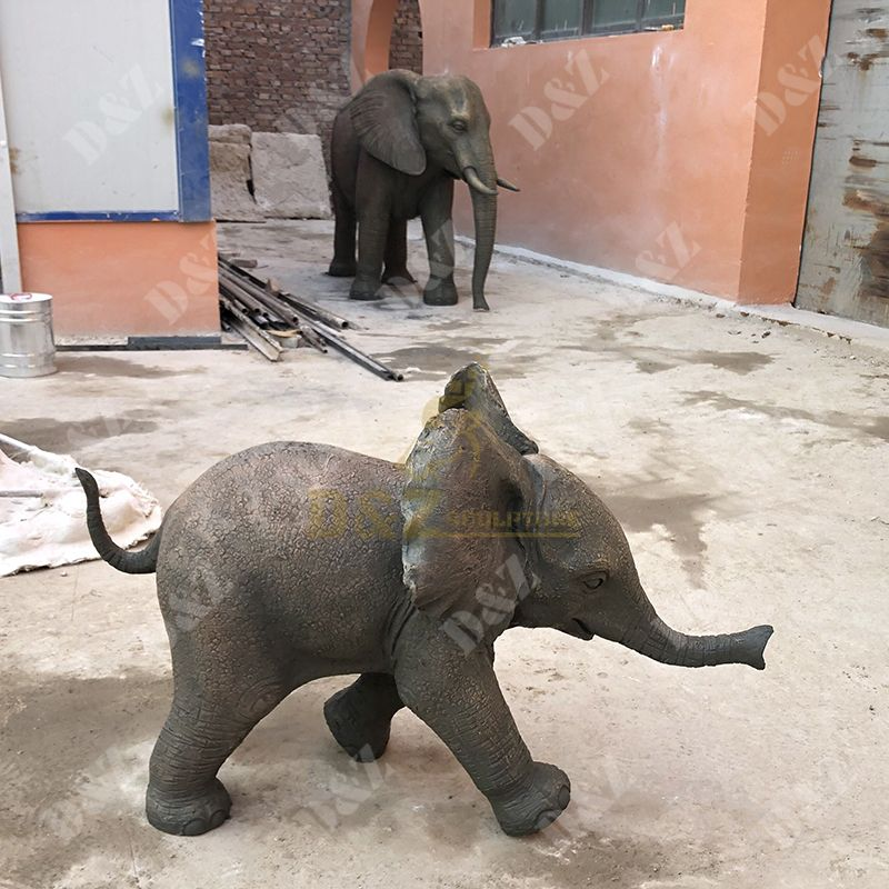 elephant statue decor