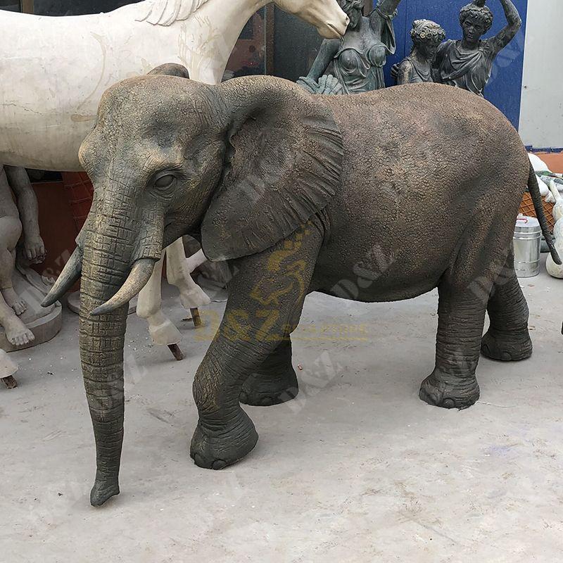 elephant statue outdoor
