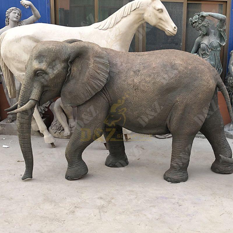 elephant statue garden