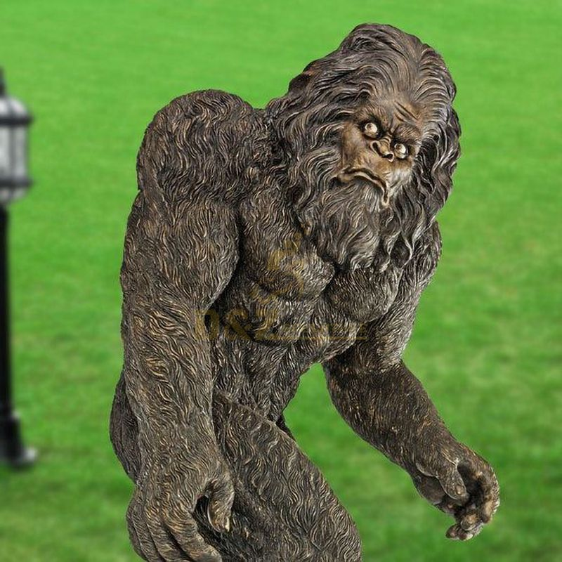Life size bigfoot garden statue for sale