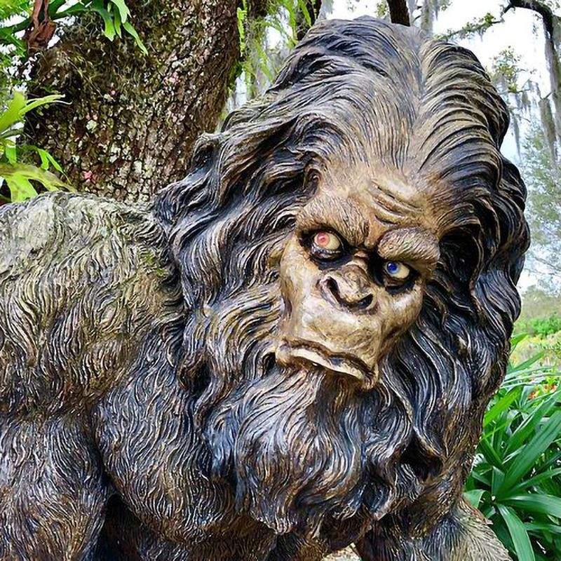 life size bigfoot statue for sale