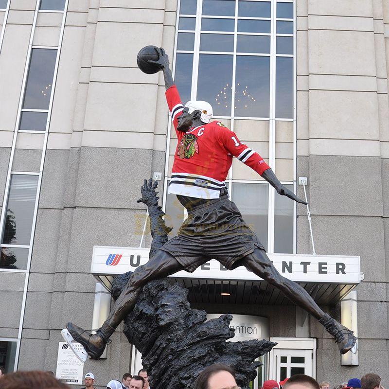 Michael Jordan sculpture