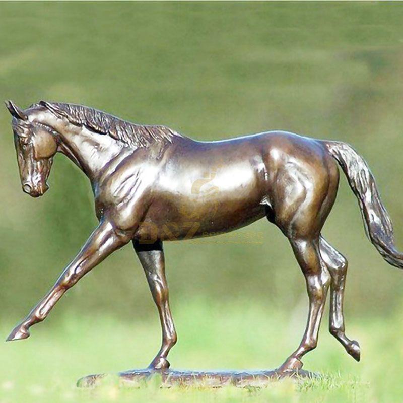 metal horse sculpture for sale