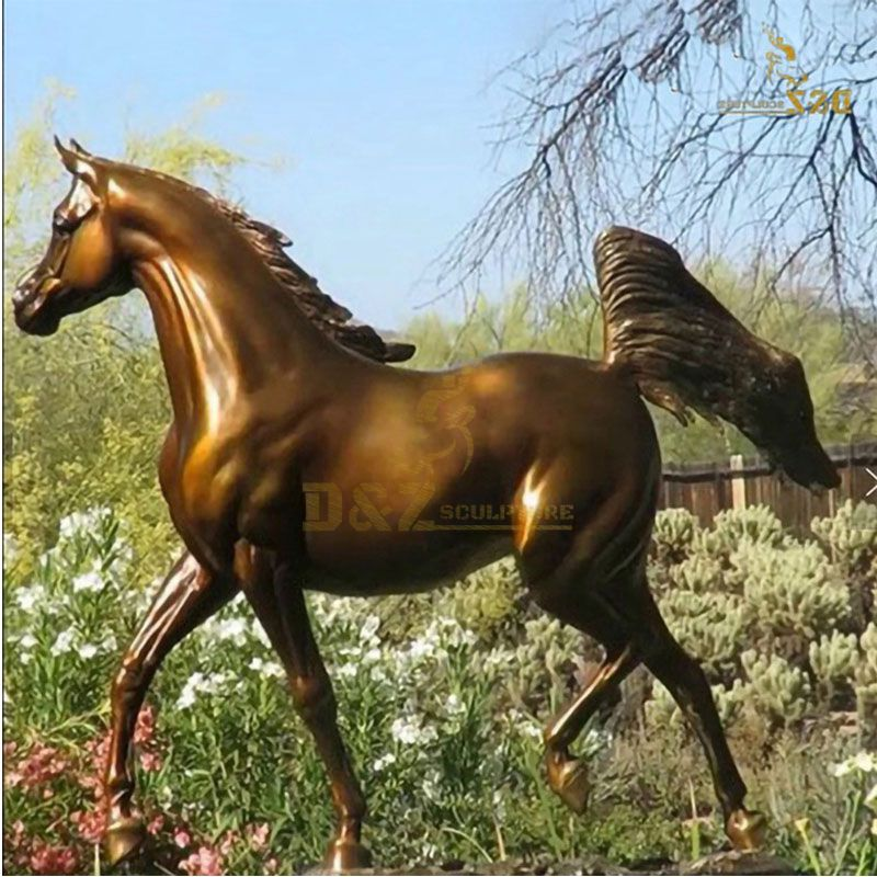garden horse statues