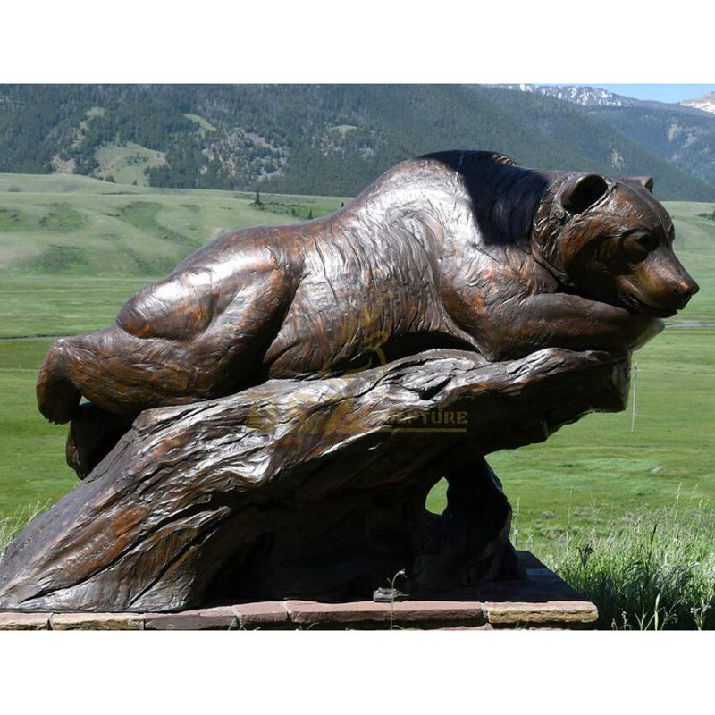 bear outdoor statues