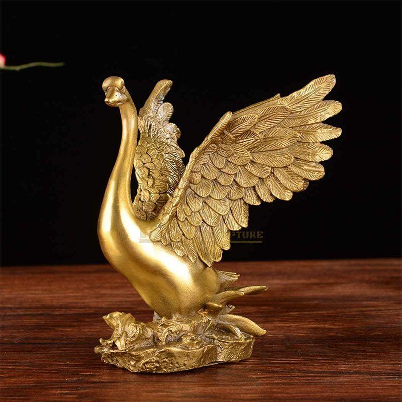 swan sculpture for sale
