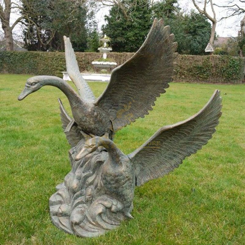 swan statue for sale