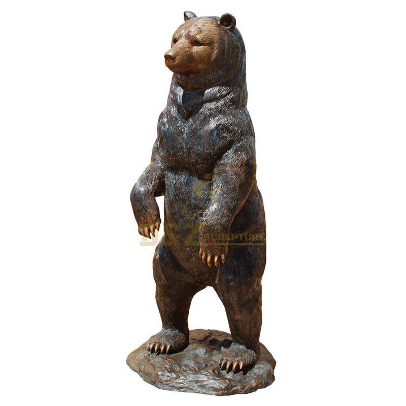 garden statue bear