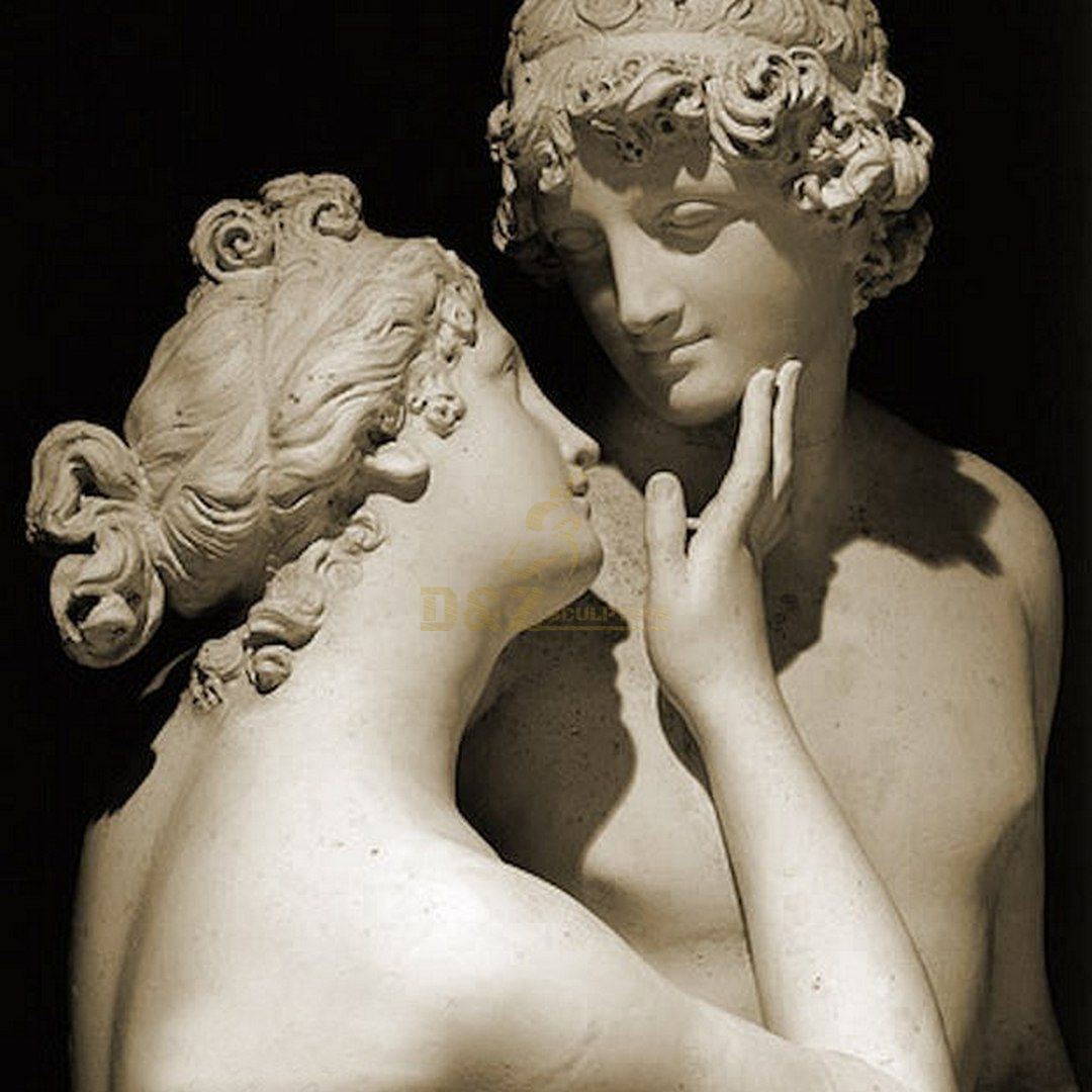 Famous life size Adonis and Aphrodite Venus statue