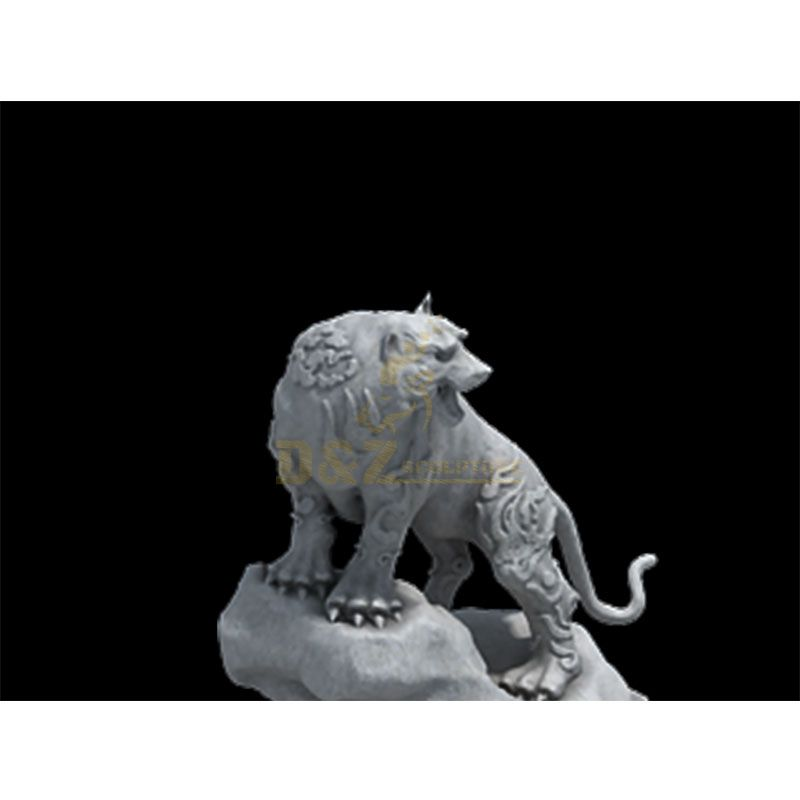 Life size white tiger statues for sale