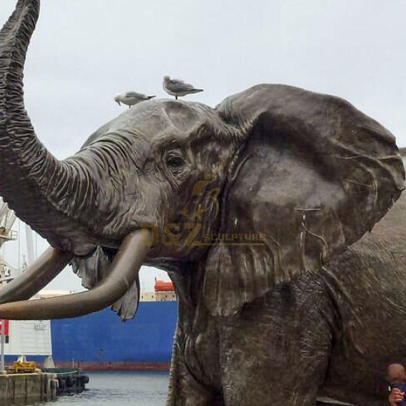 elephant decorative statues