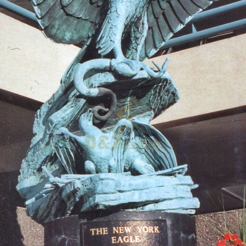 eagle sculpture bronze
