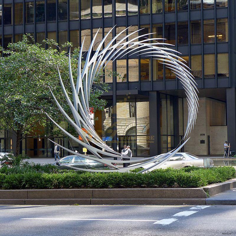 round sculptures