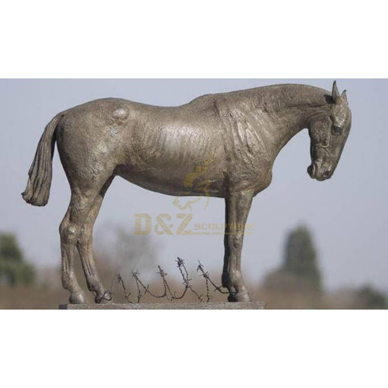 horse statues outdoor