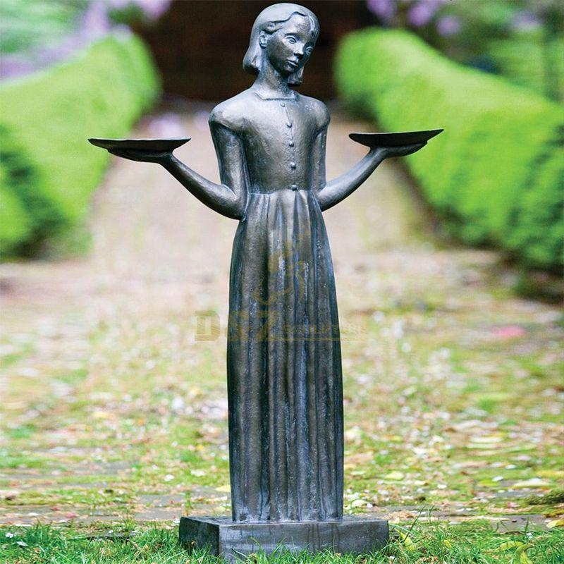 savannah bird girl statue