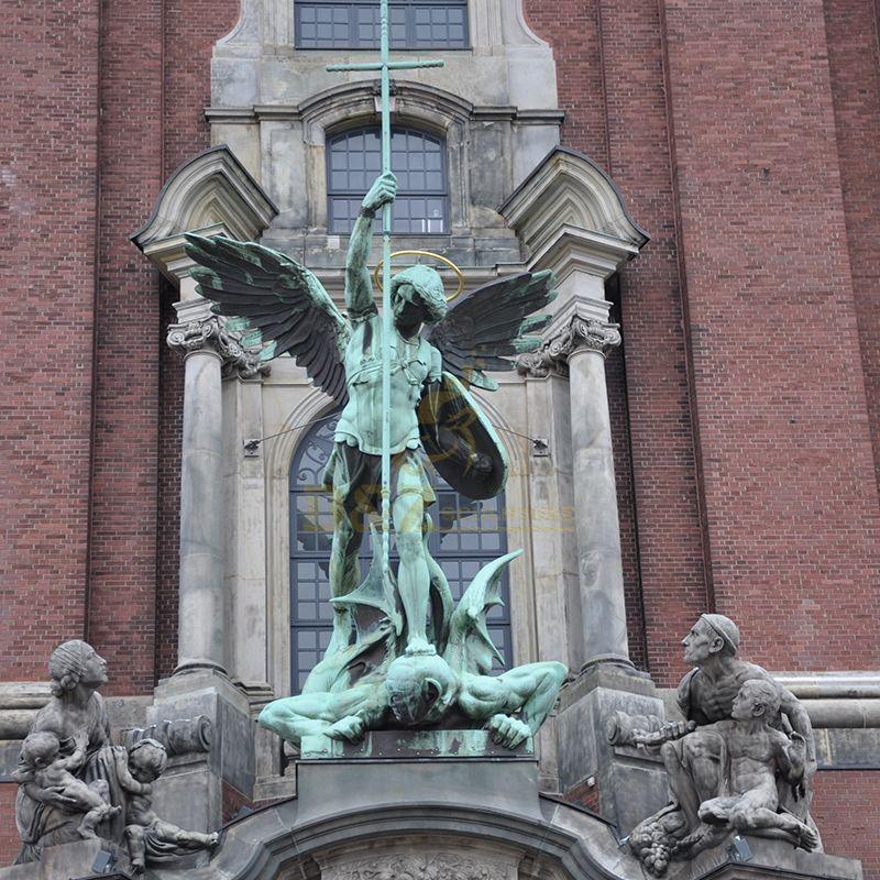michael the archangel statue