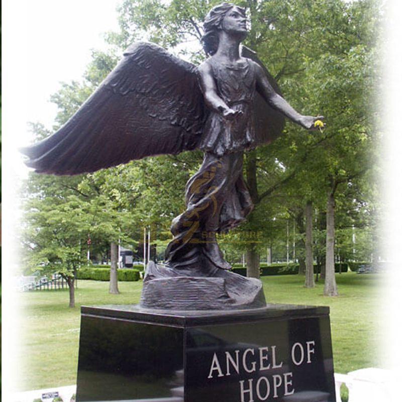 Angel of hope statue