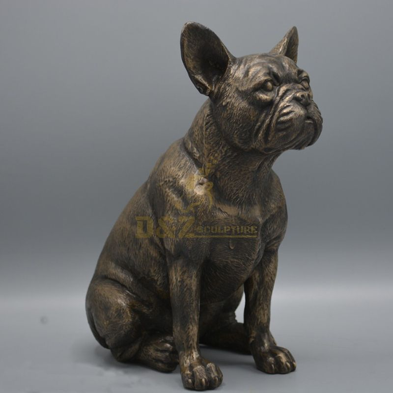 french bulldog statue garden