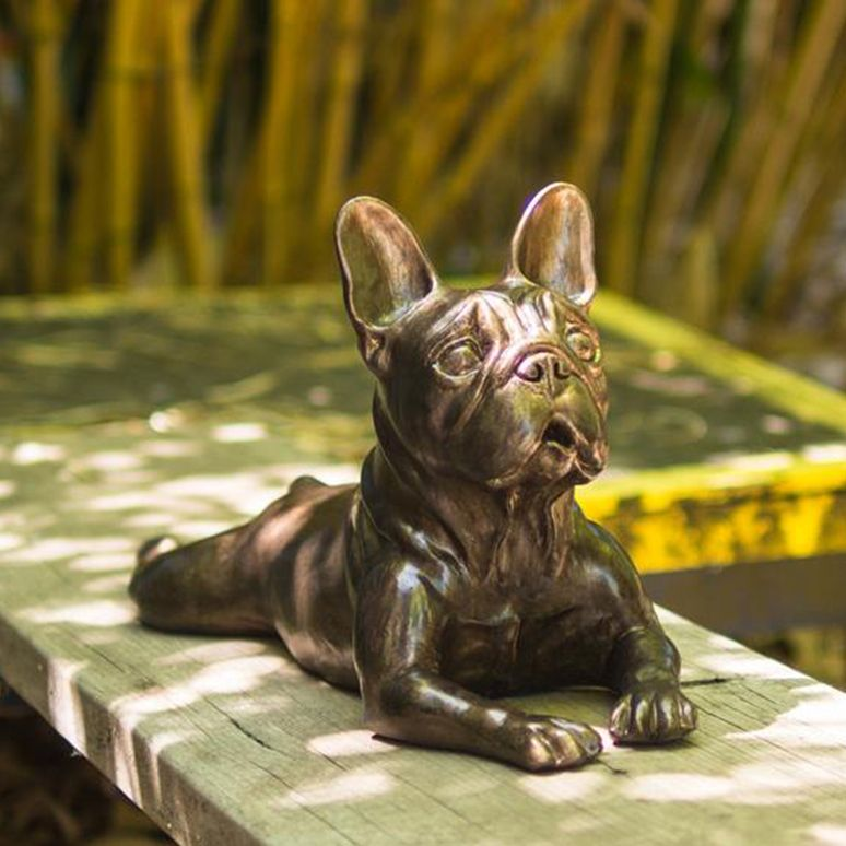 french bulldog statues