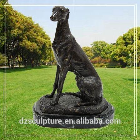 greyhound statue outdoor