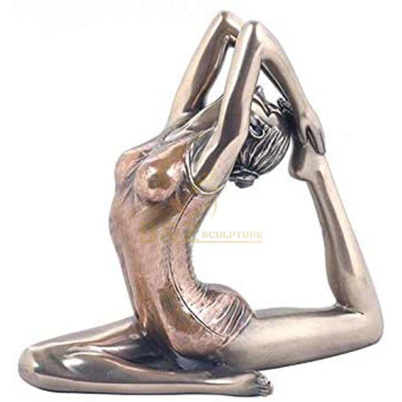 yoga woman statue