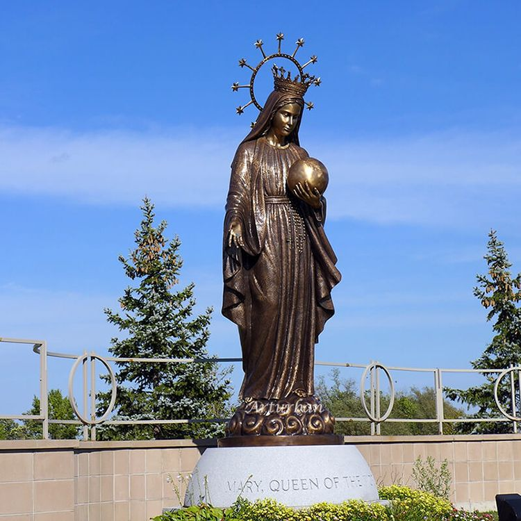 High quality outdoor Saint Mary garden statue for sale