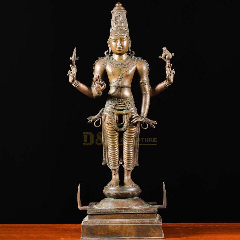 vishnu statue in india