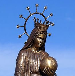 mary garden statue