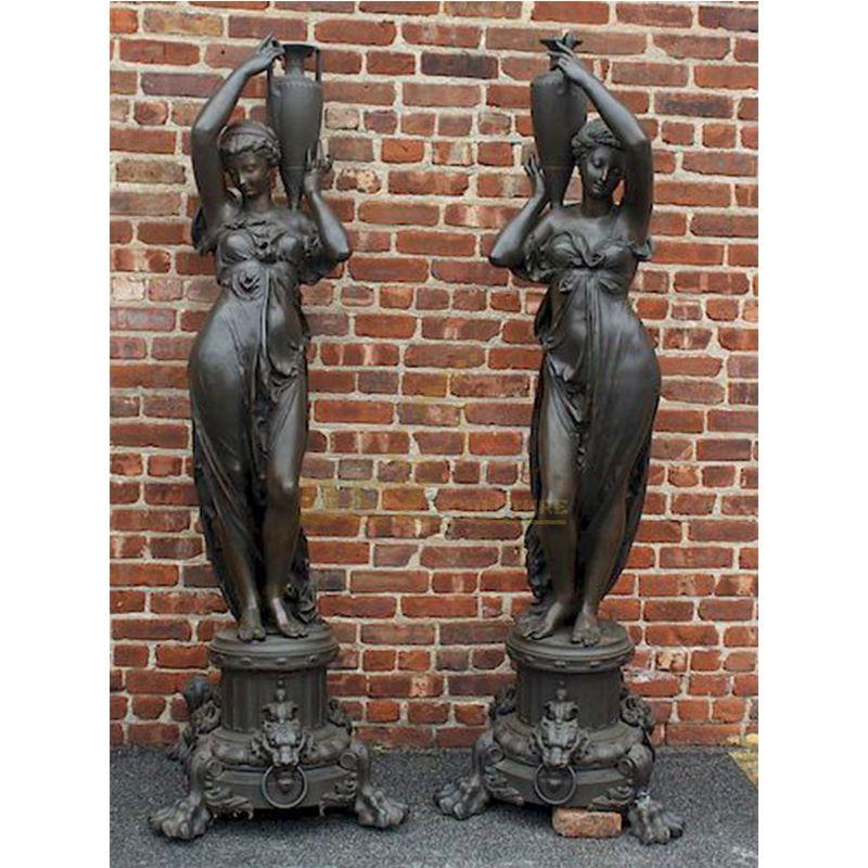 Antique life size bronze Rebecca Statue