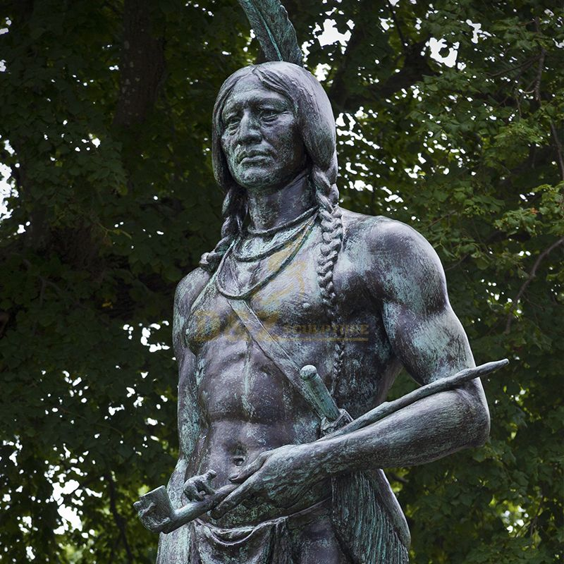 native american statues