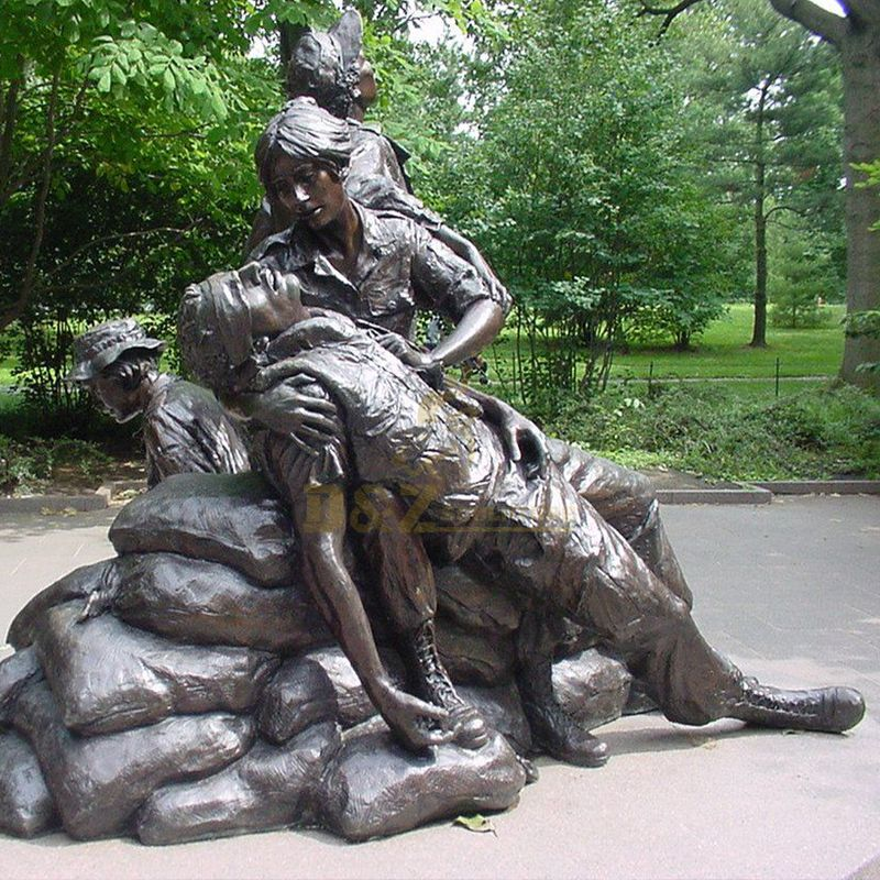 Vietnam women's memorial statue replica