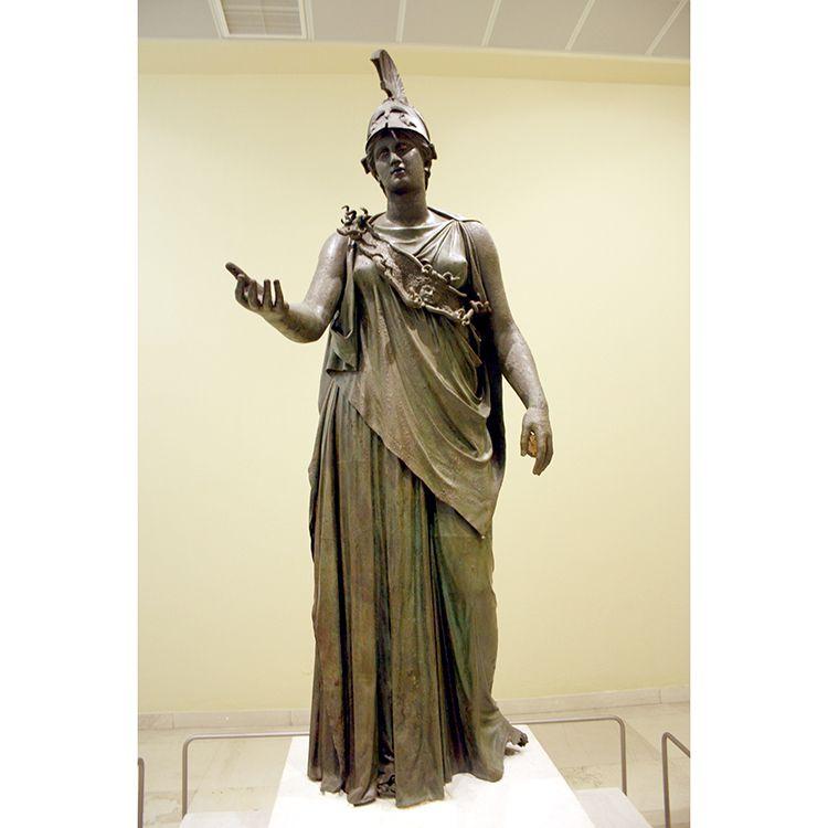 Life Size Famous Bronze Piraeus Athena Statue