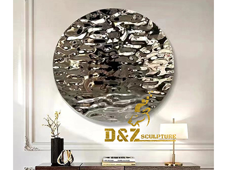 How the modern metal wall decor is made?