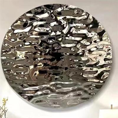 3d wall steel decor