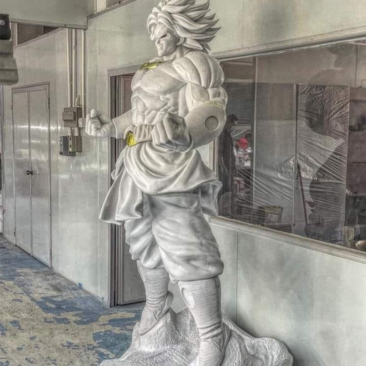 life size broly statue
