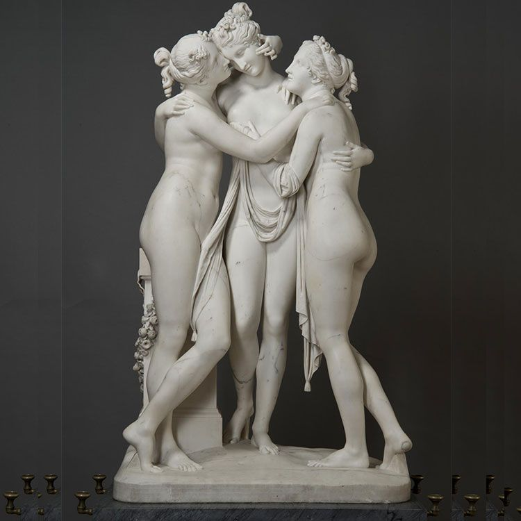 the three muses graces statue for sale