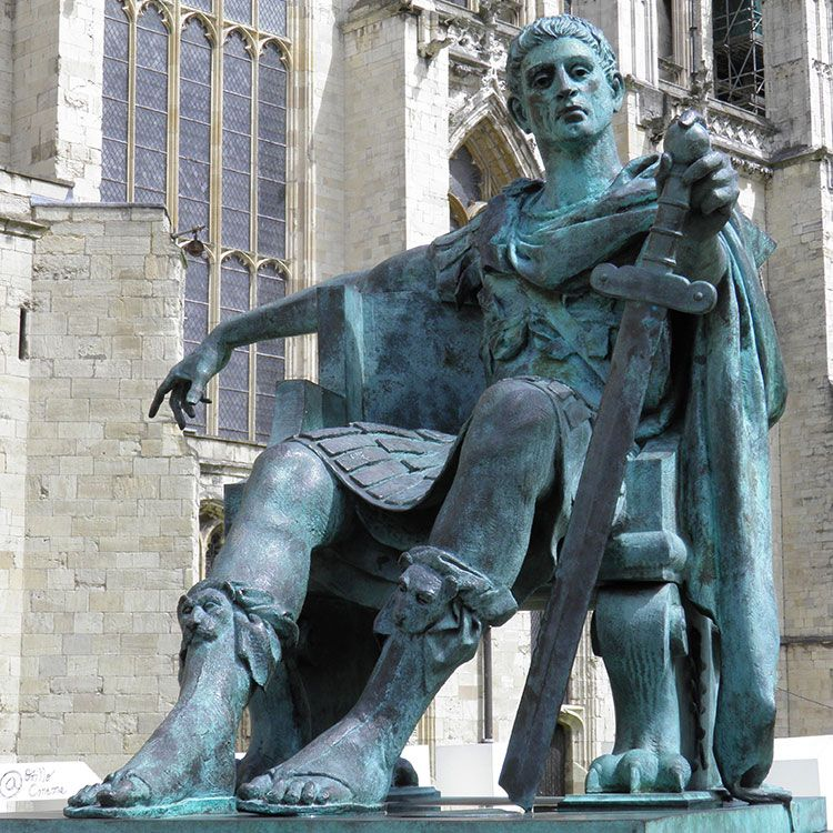 constantine the great statue