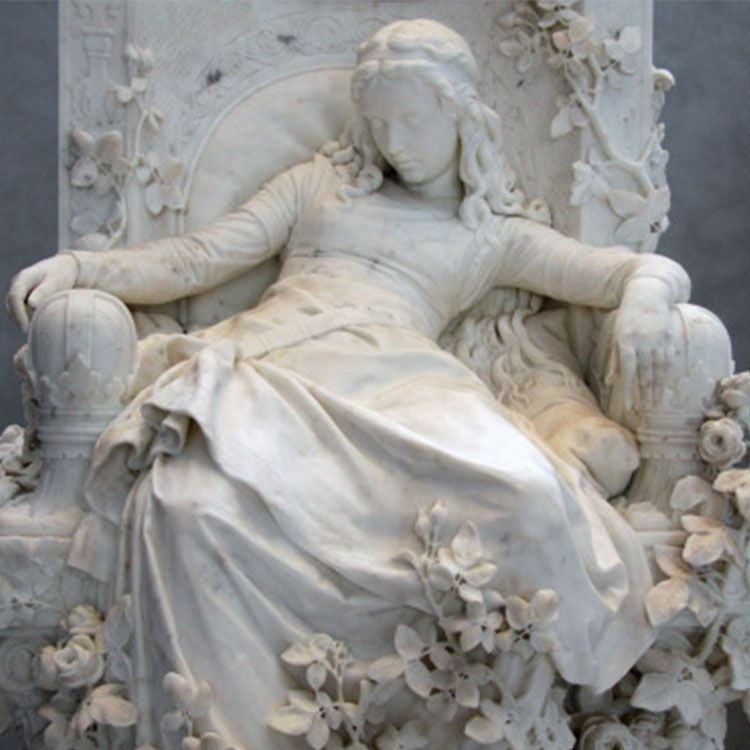 sleeping beauty statue