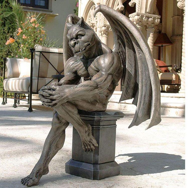 life size gargoyle statue