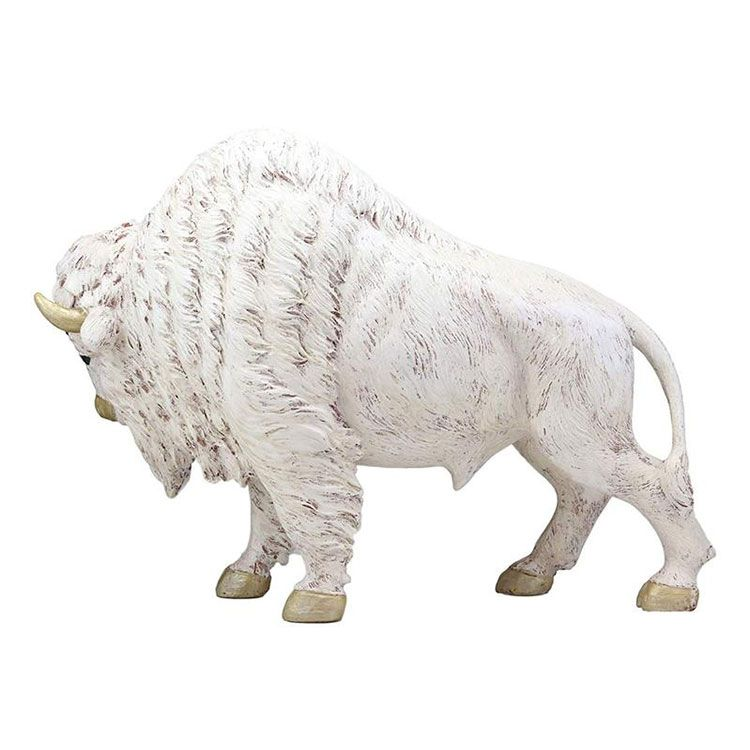 white buffalo statue for sale
