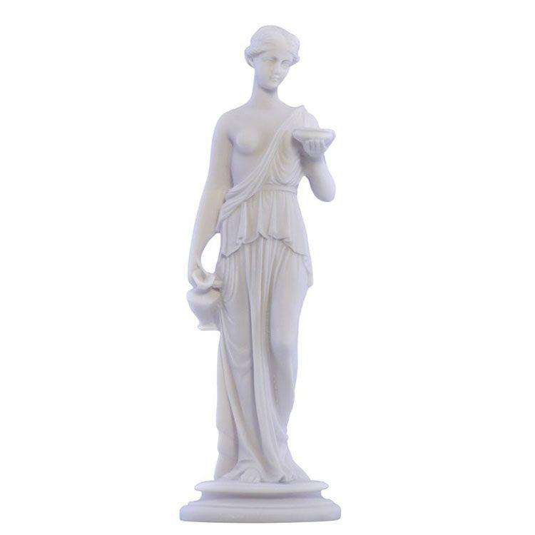 white hebe statue