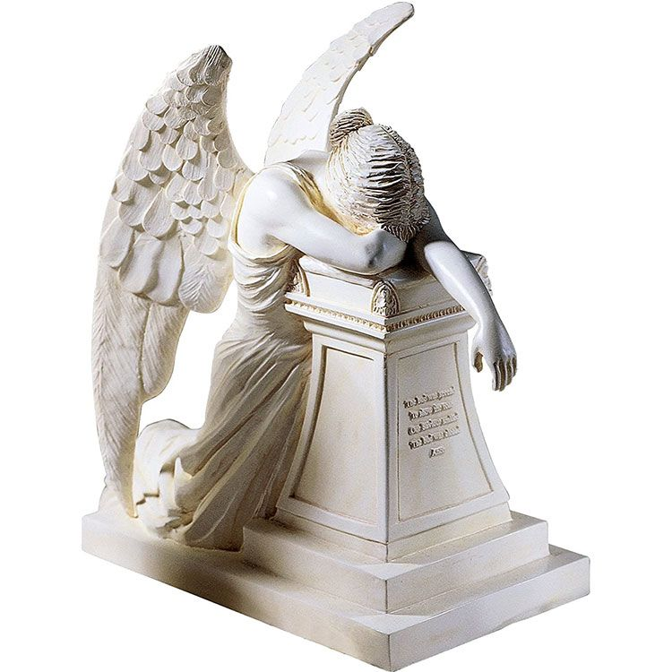 life size angel of grief statue
