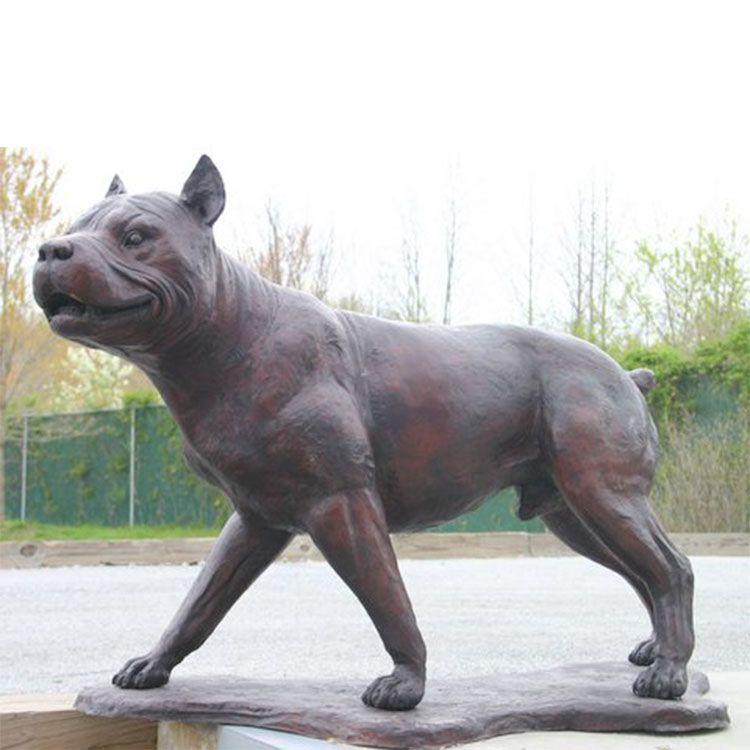 Pitbull Statue figurine