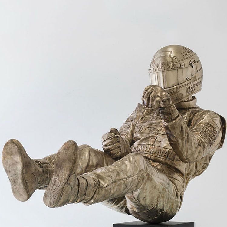 bronze life size senna statue