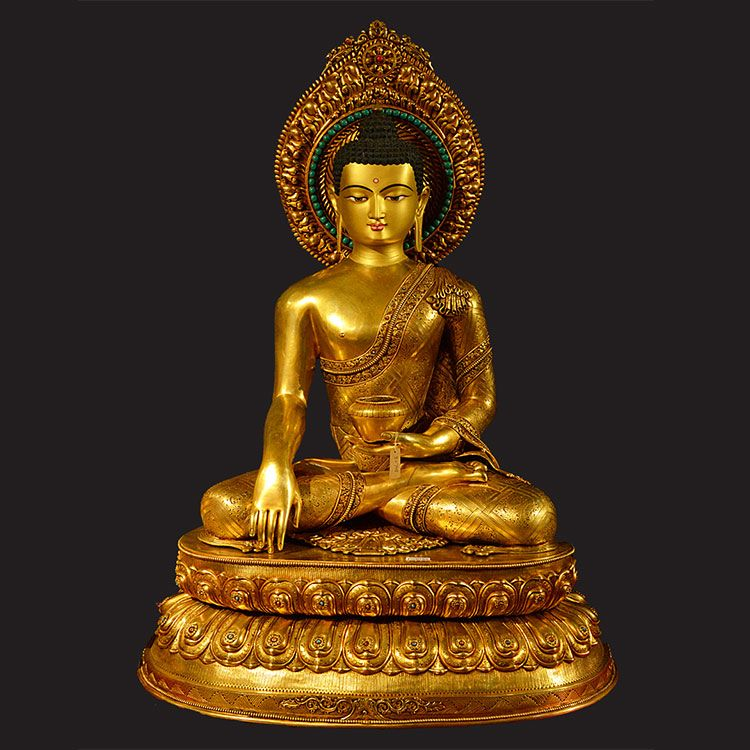 large gold buddha statue for sale