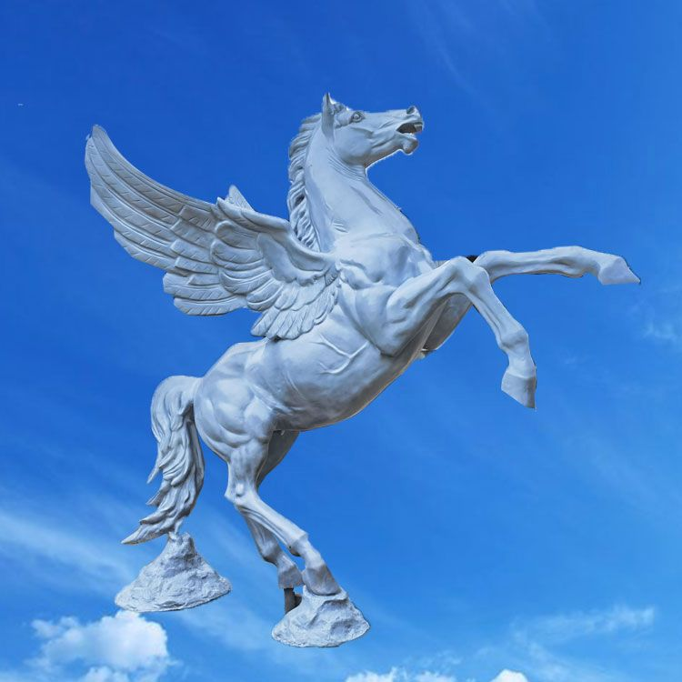 horse wing statue