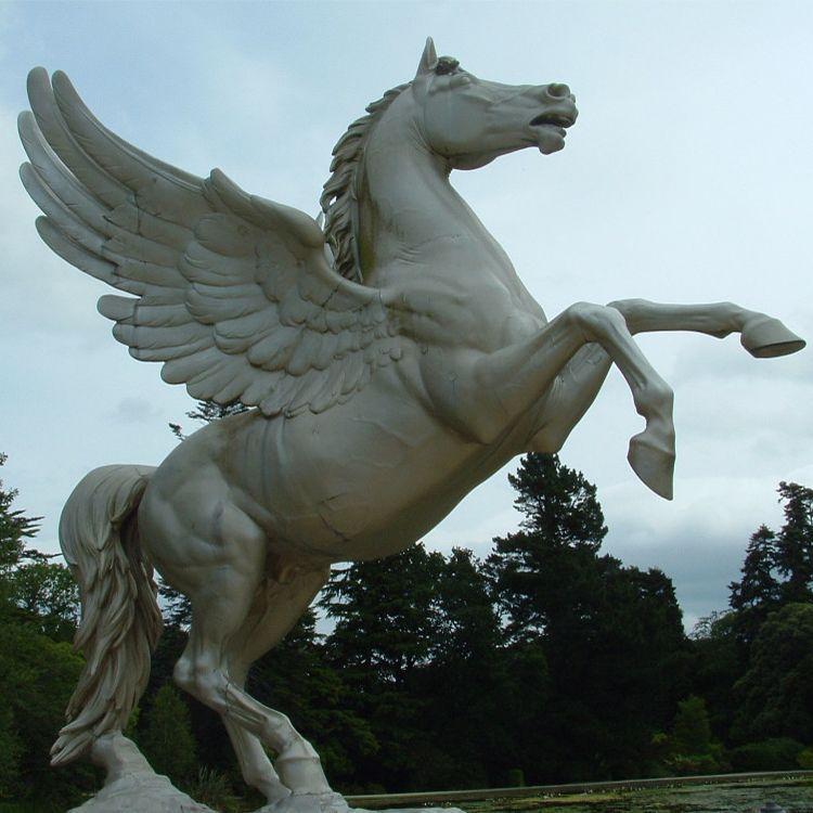 pegasus outdoor statue