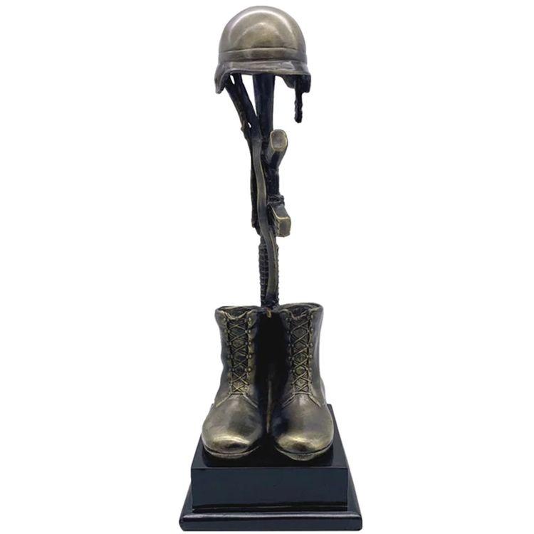 fallen soldier battle cross statue for sale