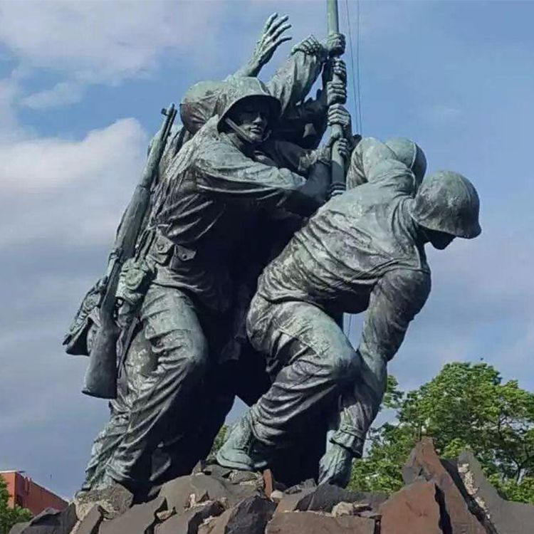 Outdoor large marine corps statues for sale
