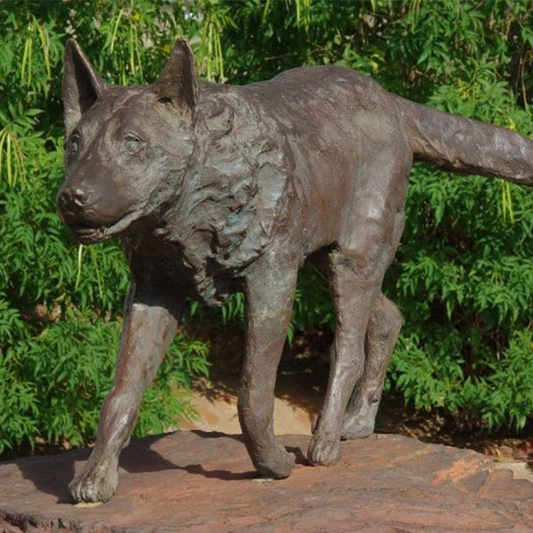 large red dog statue for sale